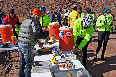 Aid Stations of Moab Bike Events